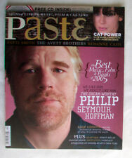 PASTE issue 20 February March 2006 PHILIP SEYMOUR HOFFMAN Patti Smith NO CD