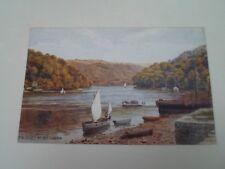 A R QUINTON Postcard 1788 THE DART AT DITTISHAM   Unposted   §A2892