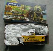 Vintage Athearn HO Scale Chessie System WV Caboose Car in Box 5369
