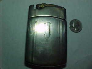 Vintage Ronson  Art Deco Cigarette Case & Lighter Combo