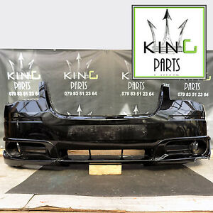 CHRYSLER TOWN & COUNTRY 2013 FRONT BUMPER GENUINE BLACK (A8658) KING PARTS Egham
