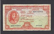 Ireland - Ten (10) Shillings, 1955