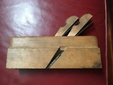 antique double Ohio Tool Co woodworking molding tool plane