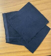 Four-inch squares of navy blue corduroy- 100 Pack - Free Shipping