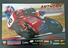 Vintage Anthony Gobert Parts Unlimited Ducati Austin Superbike 2003