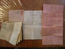 1936 Facture et Enveloppe BARDIN fournitures automobiles pour Garage Mecanicien