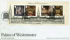GB Architecture Stamps 2020 FDC Palace of Westminster Norman Porch 4v M/S