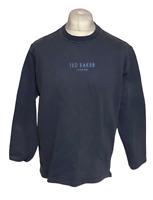 Ted Baker Woman Women's Jumper Blue Size 2 Medium 100% Cotton Marks