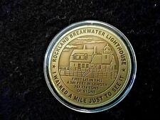 Souvenir Bronze Commemorative, Knox County Midcoast Maine, Breakwater & H. Knox