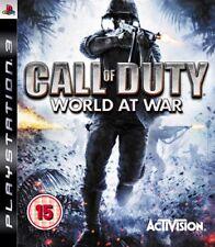 PS3 CALL OF DUTY WORLD AT WAR GIOCO SOLO DISCO