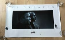 Muhammad Ali and Michael Jordan THE GREATEST (1998) Classic B&W Chevy POSTER