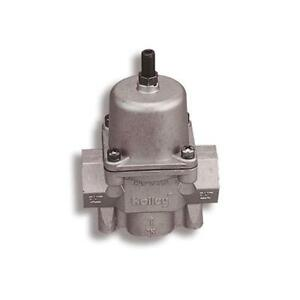Holley Fuel Pressure Regulator 12-704; 4.5 to 9 psi Aluminum for Gas & Alcohol