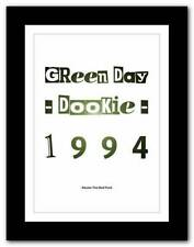 Green Day Rock Music Posters