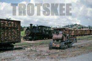 35mm Slide CUBA Railways Industrial Steam Loco 1390 1995 Original