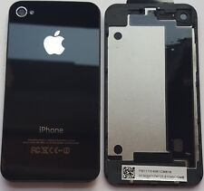 iPhone 4S  Akkudeckel Backcover  Rückseite aus Glas  Schwarz