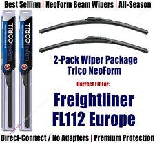 2pk NeoForm Wiper Blades fit 1996-1998 Freightliner FL112 Europe 16240x2