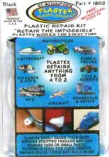 Black Plastic Repair Kit Plastex Small Kit Glues Bonds Remake Tabs Made in USA