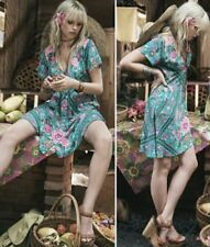 Spell and the Gypsy Collective Babushka Turquoise Mini Dress Size M