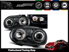 NEUF FEUX AVANT PHARES LPVW70 VW GOLF 4 1997-1999 2000 2001 2002 2003 ANGEL EYES