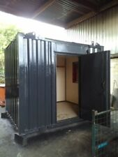 10ft x 8ft Anti Vandal Office Container - Grey - Bargain