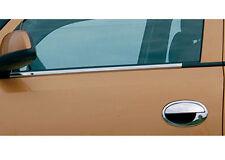 Contours de vitre latèrale - Baguettes chromées en inox - 4 pièces OPEL CORSA C