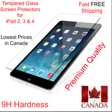 Tempered Glass Screen Protector for Apple iPad 2,3 & 4 Ultra Thin 0.3mm