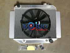 """Aluminum Radiator&14"""" Fan TORANA LC LJ LH LX UC 4CLY & 6CLY 1969-1978 AUTO MT"""
