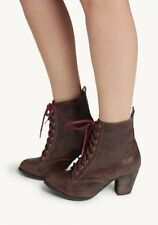Chelsea Crew Detour Ankle Boot Brown 36 / 5 - Victorian Steampunk Witch Granny