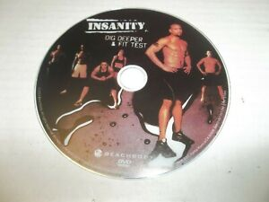 Beachbody Insanity Dig Deeper & Fit Test Replacement Disc
