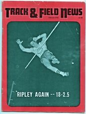 1976 Track and Field News Dan Ripley Pole Vault John Walker Top Women of 1975