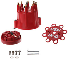 MSD 84335 SBC BBC Chevy GM V8 Pro Billet Distributor Cap/Rotor Kit HEI Terminal