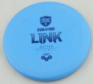 NEW Evolution Exo Soft Link 176g Putter Discmania Discs Golf Disc at Celestial