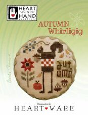 HEART IN HAND: AUTUMN WHIRLIGIG CROSS STITCH PATTERN