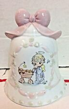 Precious Moments Bell Christmas Bell 1999 Collectors Bell
