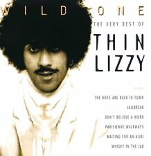 THIN LIZZY wild one - the very best of (CD compilation) greatest hits, hard rock