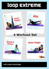 Resistance Band EXERCISE DVD Barlates Body Blitz LOOP EXTREME 4 Workouts