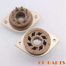 8pin Octal Vacuum Tube sockets for EL34 KT88 6550 6CA7 6L6 KT66 PCB Mount 10PCS