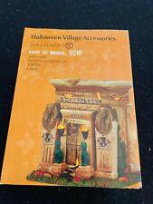 Dept 56 Original Halloween Village Accessory - Rest in Peace, 2015 #4047691