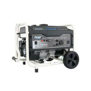 Pulsar 5,250W Portable Gas-Powered Generator with RV Port, PG5250