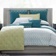 CANDICE OLSON Soul Mates QUEEN COVERLET Green IN THE GROOVE CRINKLE QUILT LOFT
