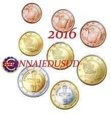 Série 1 Cent à 2 Euro Chypre 2016 - Série UNC