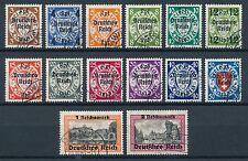 Gestempelte ungeprüfte Briefmarken aus dem deutschen Reich (1933-1945)