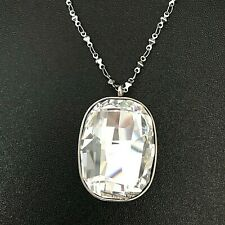 Nomination Allure Clear Swarovski Crystal Stainless Steel Necklace 131122-010