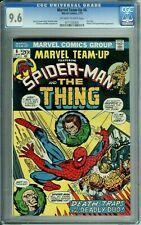 MARVEL TEAM-UP 6 CGC 9.6 SPIDER-MAN THING THINKER & PUPPET MASTER Marvel 1973