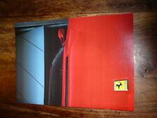 Prospekt / brochure Ferrari Lauda F40 456GT uwm. 288 GTO, no Enzo, LaFerrari
