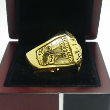 Year 1985 Edmonton Oilers Stanley Cup Hockey Championship Copper Ring 8-14Size