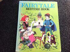 Vintage 1970s FAIRYTALE BEDTIME BOOK Hardcover golden press RARE