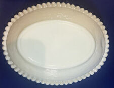 """6 Vintage Indiana Glass Milk Glass Bowl 7"""" x 5.5"""""""