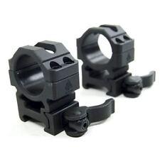 "UTG 1""  2pcs Med Pro LE Grade Picatinny QD Rings: 22mm Wide - RQ2W1154"