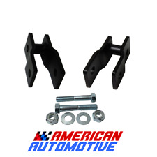 Front Steel Shock Extenders 2005-2019 Ford F250 F350 Super Duty 4WD Super Duty
